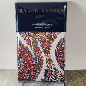 Ralph Lauren Home Bedding - Ralph Lauren Paisley Standard Pillow Sham